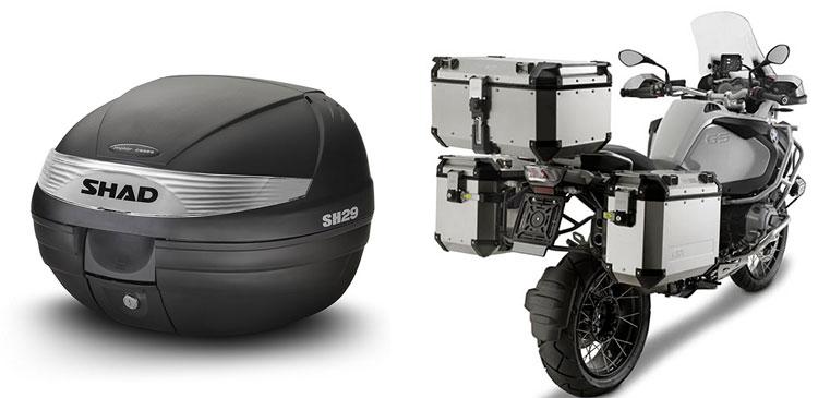baules para moto y scooters