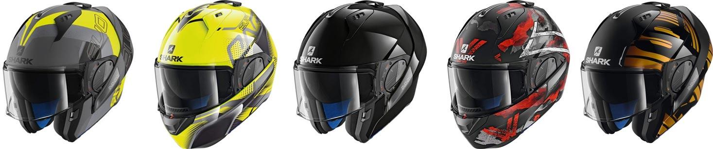 casco modular evo-one shark