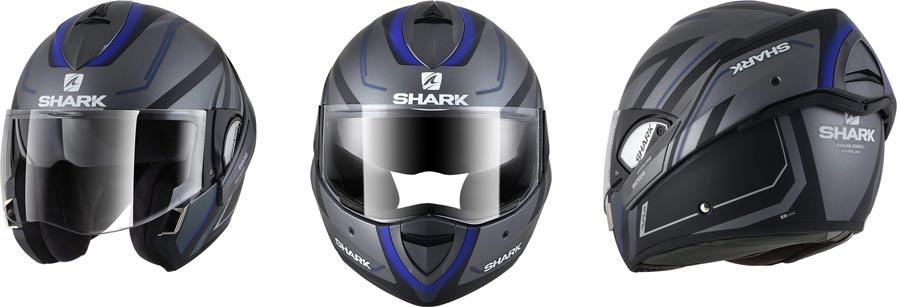 precio casco modular shark