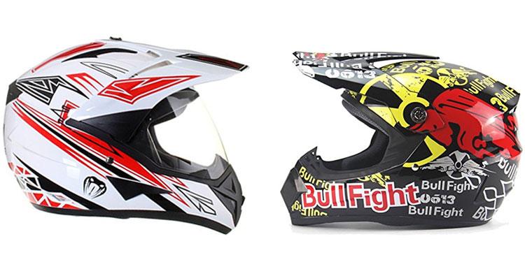 casco de moto croos