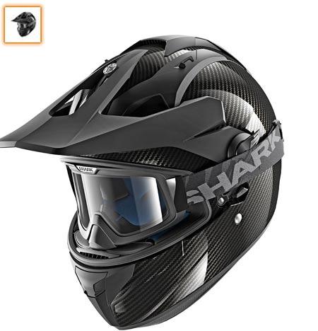 casco shark moto cross