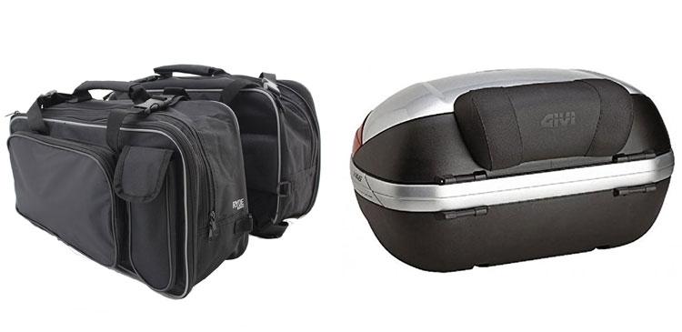 maletas y alforjas para moto