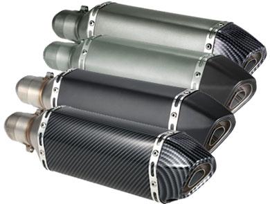 tubo de escape de moto barato #motogp