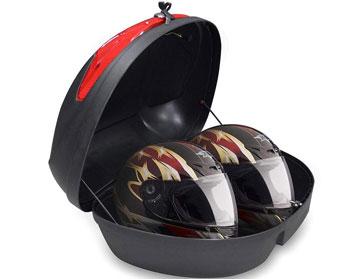 baul moto 2 cascos barato #baulmoto #accesoriosmoto
