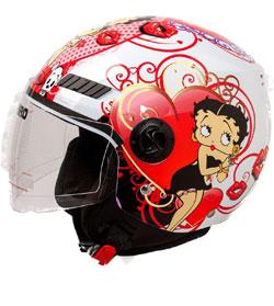 casco de moto jet para mujer #cascomoto #cascojet